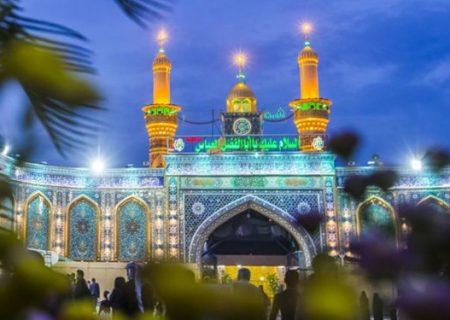 نصب حفاظی با ۳۶ متر طول، پیرامون بابالقبله حرم حضرت عباس (ع)